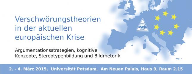 Verschwörungstheorien in der aktuellen europäischen Krise – März, 2015 – Berlin