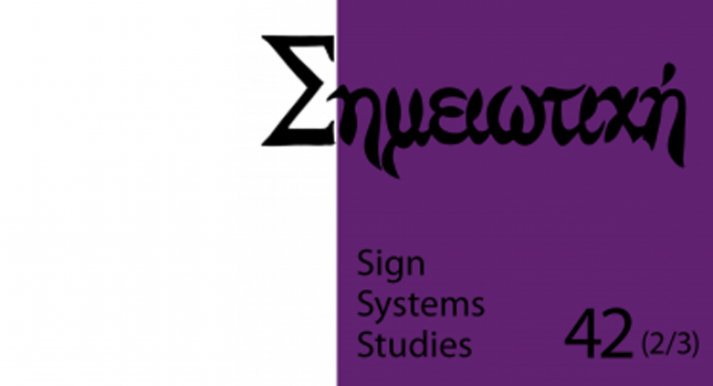 New issue: Sign Systems Studies 42(2/3)