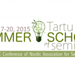 Reminder for Tartu Semiotics Summer School/Nass 2015