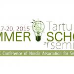 Tartu Summer School of Semiotics – 2nd call of papers