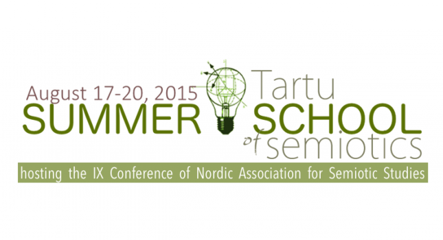 Tartu Summer School of Semiotics – 2nd call of papers