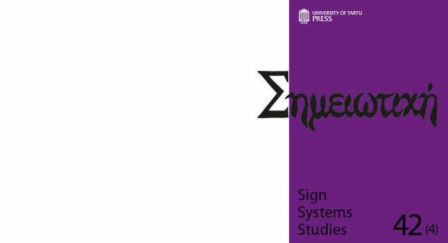 New issue: Sign Systems Studies 42(4)