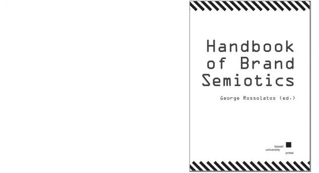 New book: Handbook of Brand Semiotics, George Rossolatos (ed.)