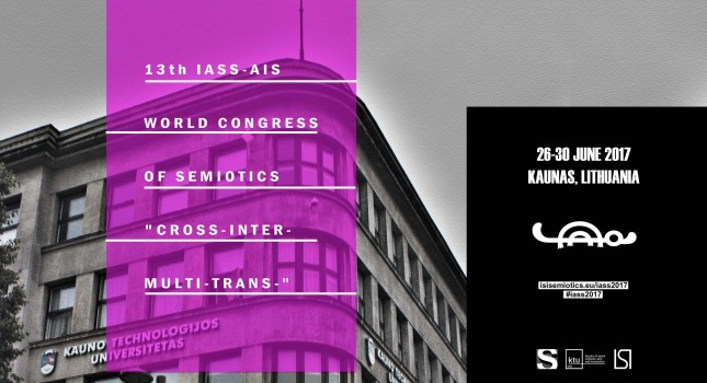 13th World Congress of Semiotics IASS