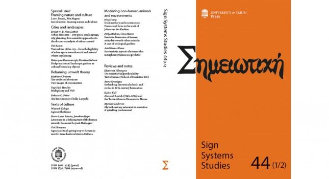 Journal: Sign System Studies (44-1/2)