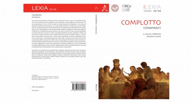 New issue of Lexia Journal of Semiotics – 23-24 Conspiracy