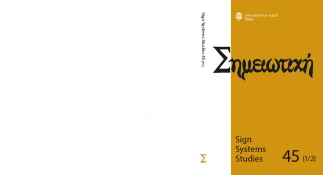 Journal: Sign Systems Studies 45(1-2)