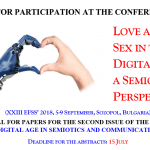 CFP: Love and sex in the digital age: a semiotic perspective