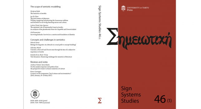 Journal: Sign Systems Studies (46-1), 2018
